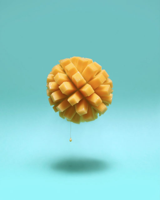 Mango Sun Conceptual Art by Karina Sharpe