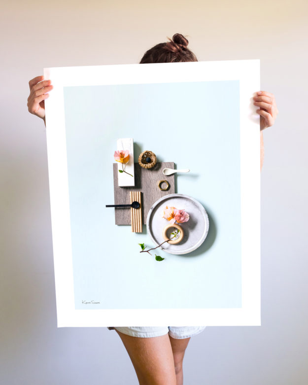 A Flatlay Large Print