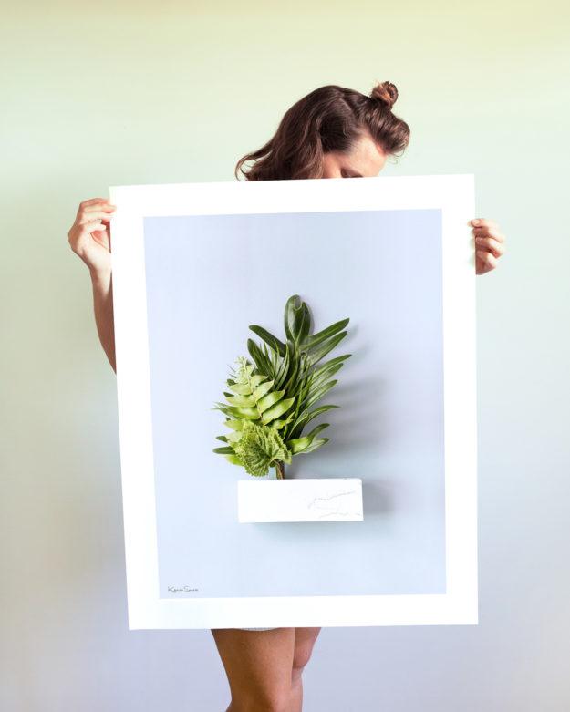 Greens Large Print